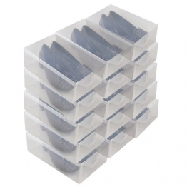 15 x PP368T Universal Schuhbox Schuhkasten Box Schuhe Aufbewahrung Schuhschachtel Schuhaufbewahrung - 1