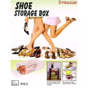 15 x PP368T Universal Schuhbox Schuhkasten Box Schuhe Aufbewahrung Schuhschachtel Schuhaufbewahrung - 4