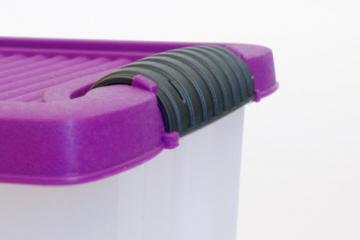 3 Stapelboxen Allzweckkiste Allzweckbox Box Kiste Aufbewahrungsbox Kunststoffbox - 3