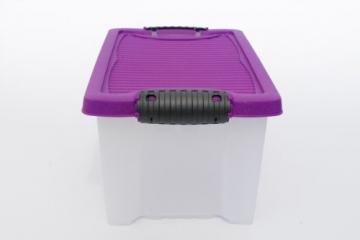 3 Stapelboxen Allzweckkiste Allzweckbox Box Kiste Aufbewahrungsbox Kunststoffbox - 5