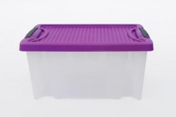 3 Stapelboxen Allzweckkiste Allzweckbox Box Kiste Aufbewahrungsbox Kunststoffbox - 6