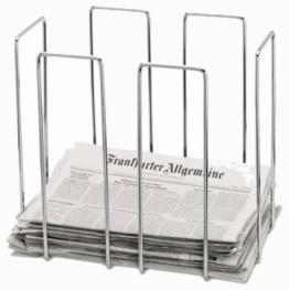 Zeitungsständer Altpapiersammler