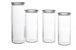 Vorratsdose aus Glas