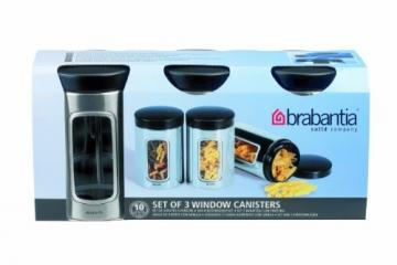 Brabantia 335341 Fensterdose 1,4 L 3er-Set - 2