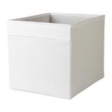 """IKEA Regalfach """"DRÖNA"""" Aufbewahrungsbox Regaleinsatz in 33x38x33 cm (BxTxH) - WEISS - passend für Expedit, Besta, etc. - 1"""