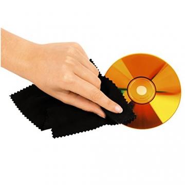 Hama CD-Tasche für 304 CDs/DVDs/Blu-rays (mit Mikrofaser-Pflegetuch) schwarz - 3