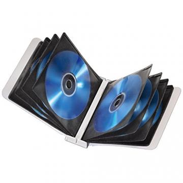 Hama CD/DVD-Album Box, für 96 CD's weiß - 4
