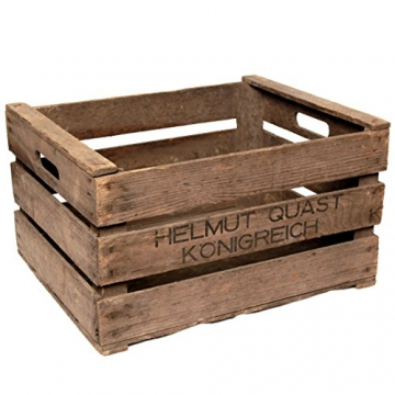 Original Obstkiste aus dem Alten Land - stabile Stiege für Regal- & Möbelbau +++ Natur - 3