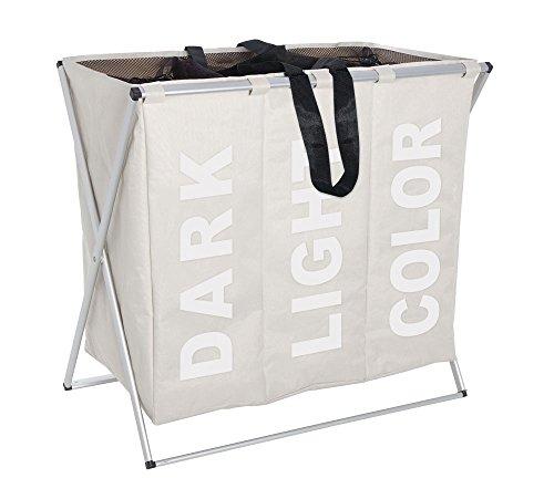 w schesammler mit sortierfunktion 3 f cher. Black Bedroom Furniture Sets. Home Design Ideas