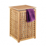 Wäschekorb aus Holz
