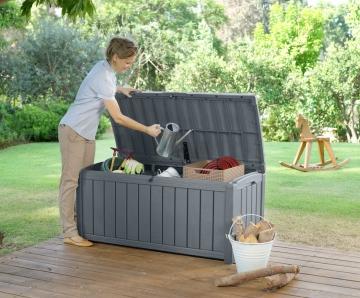 gartenbox wasserdicht mit sitzgelegenheit test preisvergleich. Black Bedroom Furniture Sets. Home Design Ideas