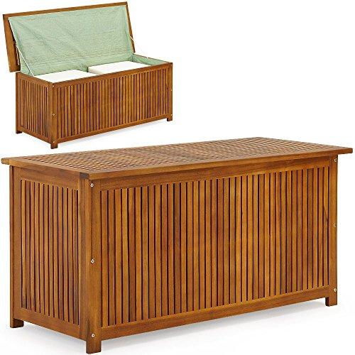 auflagenbox aus holz ideal f r balkon oder terrasse. Black Bedroom Furniture Sets. Home Design Ideas