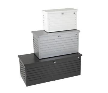 Biohort FreizeitBox - 130 dunkelgrau-metallic, 134 x 62 x 71 cm - 1